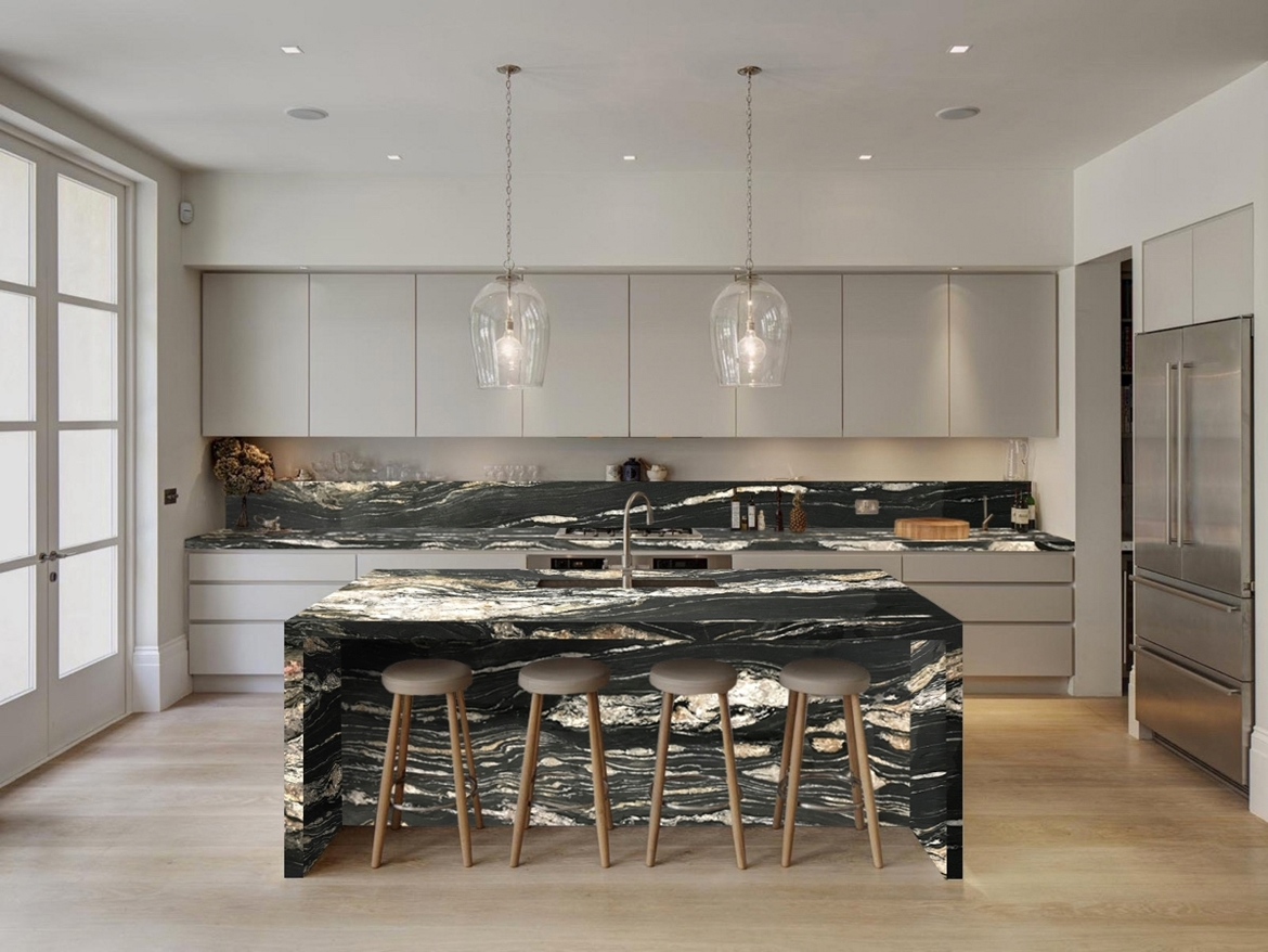 Picolit Quartzite Kitchen